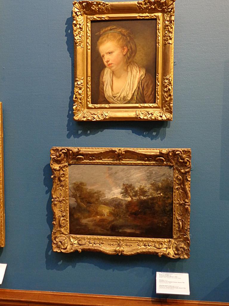 Jean Baptiste Greuze and Thomas Gainsborough