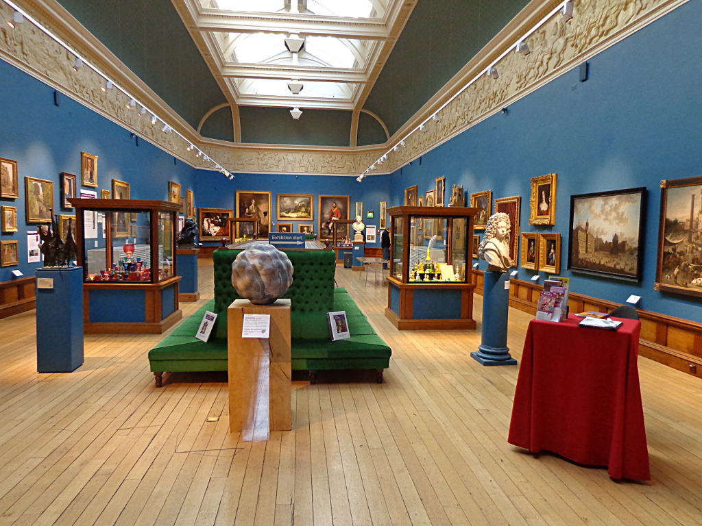 The Victoria Art Gallery, Bath, UK.