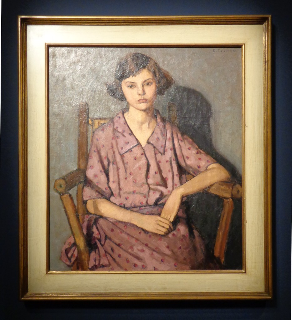 Emily Coonan, Girl in a Dotted Dress, about 1923