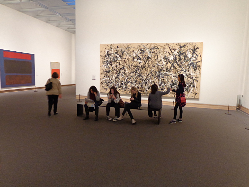 "At this point in New York's Metropolitan, Jackson Pollock's ""Autumn Rhythm (Number 30)"" was not the main attraction."