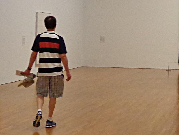 People in galleries...