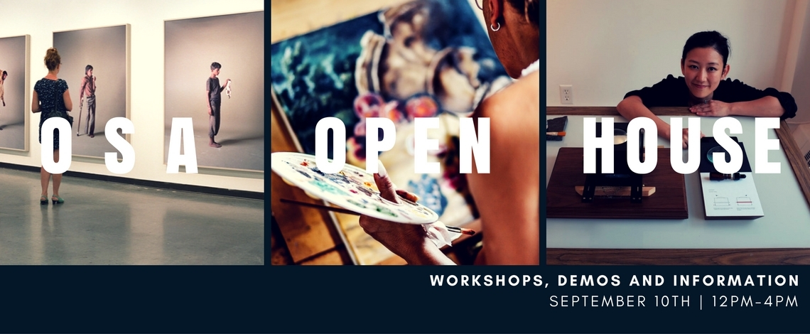 join me this Saturday for Painting Demonstrations and Open House at the Ottawa School of Art.